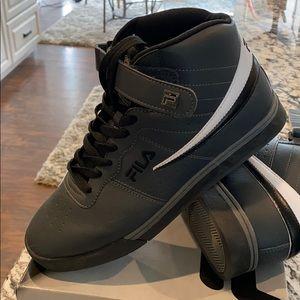 High Top Tennis Shoe w/ Velcro